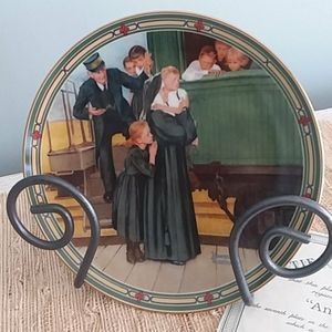 An orphan's hope Collector Plate Norman Rockwell